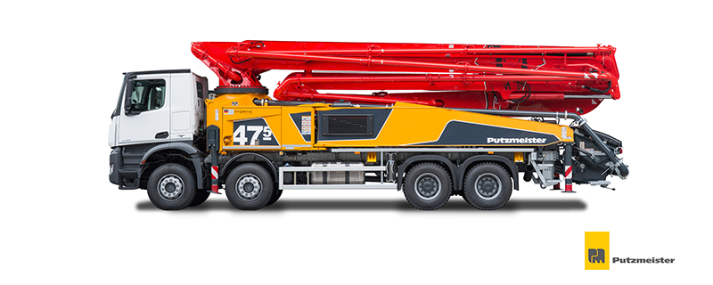 Putzmeister Concrete Pumps