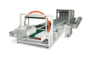 Automatic Polythene Stretch Wrap Packaging Systems