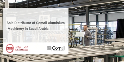 Sole Distributor of Comall Aluminium Machinery in Saudi Arabia