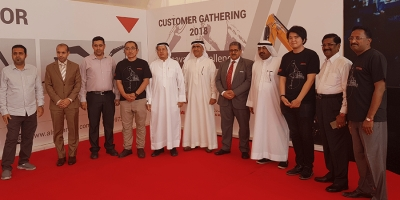 M H Al Mahroos: Yanmar customer gathering