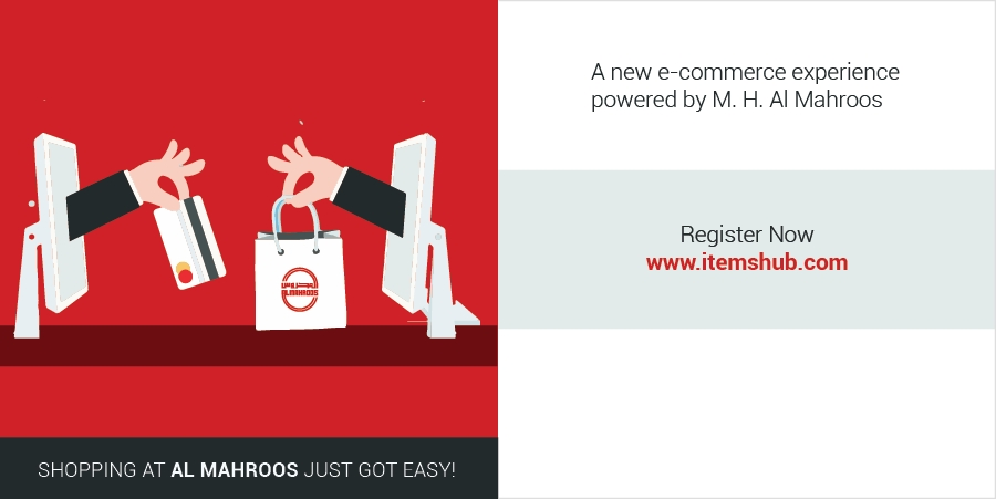 Itemshub.com – A new e-commerce experience powered by M. H. Al Mahroos